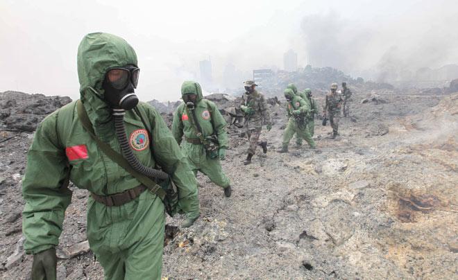 Тяньцзинь: 85 погибших, вокруг эпицентра взрывов создана 3-километровая зона