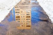 Погода в Москве: на газонах появились проталины