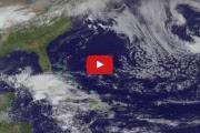 Тропический шторм Арлен оказался «съеден» другой погодной системой