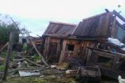 В Курганской области устраняют последствия сильнейшей бури