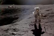 НАСА опубликовало редкие лунные кадры «Аполлона»