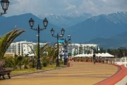 Сильная жара на Черноморском побережье Кавказа