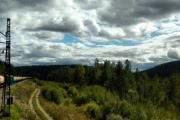 На юге Восточной Сибири лето закончилось?