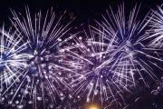 Слабый ветер не справлялся с дымом на Фестивале фейерверков в Москве