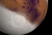 На Марсе может выпадать снег