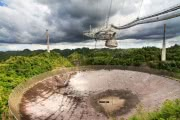 От урагана «Мария» пострадал второй по величине наземный телескоп в мире