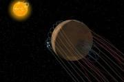 У Марса изогнутый магнитный хвост