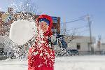 В американском городе отменен запрет на игру в снежки. Да, такой был
